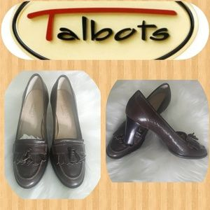 Talbots Genuine Leather upper heels shoes